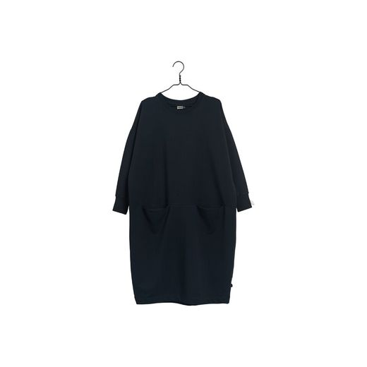 Papu - Giant hooded dress, black