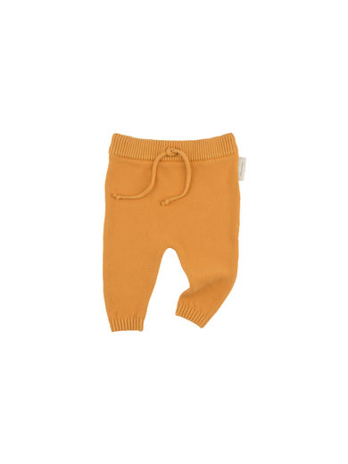 Tinycottons - Solid knit baby pant, light brick