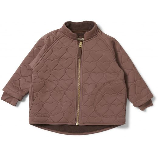 Konges Slojd - Thermo jacket jersey, cinnamon