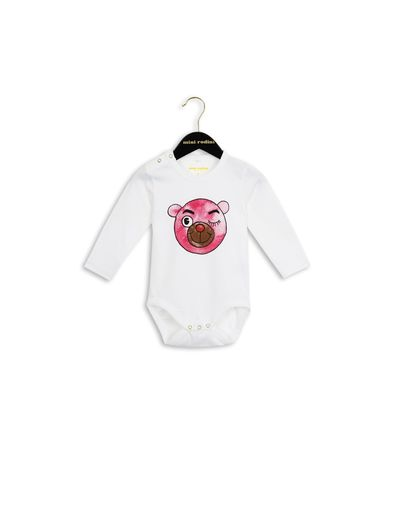 mini rodini - Bear LS body, pink