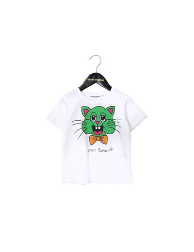mini rodini - Cat SP tee, white