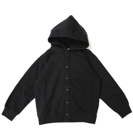 Gray label- Hooded sweater, nearly black