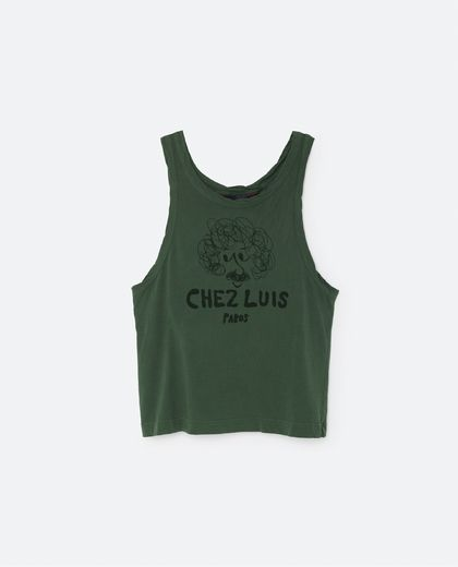 TAO - Chez Luis tank, military green