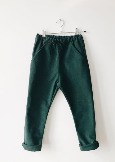 Monkind - Moss Pocket Pants, Moss Green