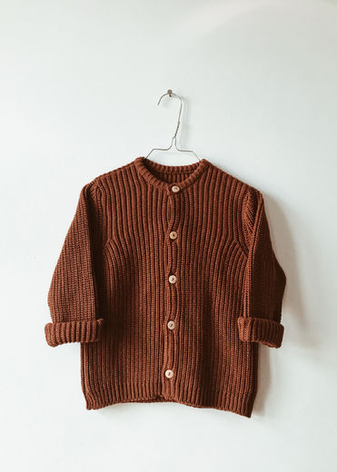 Monkind - Dust Knit Cardigan, Mi-red