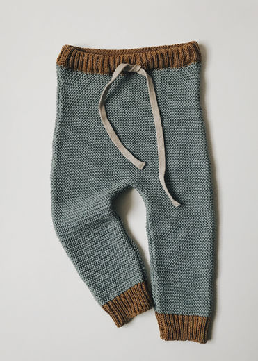 Monkind - Ice Knit Pants, Space Blue