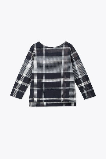 Diapers and milk - Tartan shirt